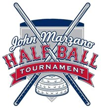 John Marzano Half Ball Tournament Logo