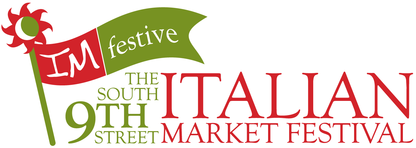 Click for full size image of 2020 South 9th Street Italian Market Festival Logo